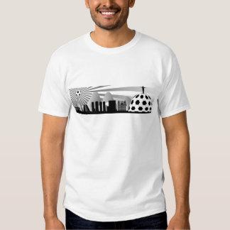 Horizonte de Río de Janeiro con la bola Camisetas