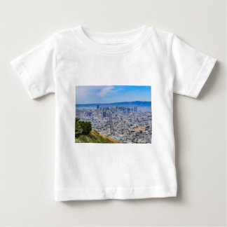 Horizonte de San Francisco Camiseta De Bebé