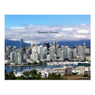 Horizonte de Vancouver Canadá Postal