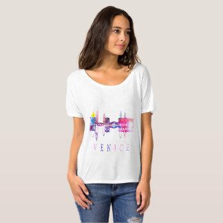 Horizonte de Venecia. Camiseta de Italia