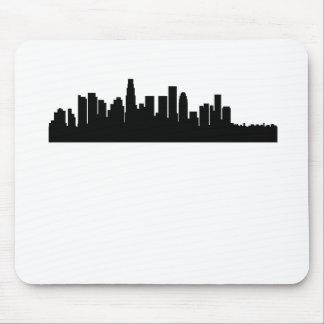 Horizonte del paisaje urbano de Los Ángeles Alfombrilla De Ratón