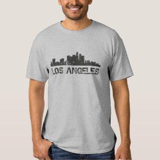 Horizonte del paisaje urbano de Los Ángeles Camiseta