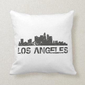 Horizonte del paisaje urbano de Los Ángeles Cojín