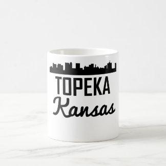 Horizonte del Topeka Kansas Taza De Café