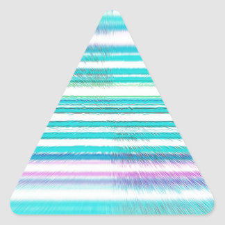 Horizonte reconstruido calcomanías de trianguloes personalizadas