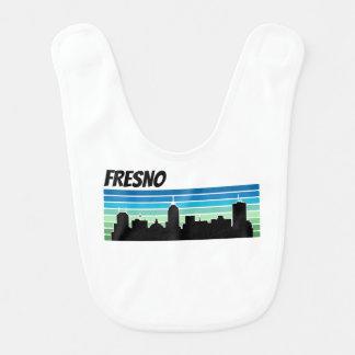 Horizonte retro de Fresno Baberos