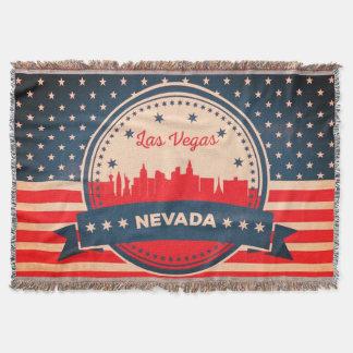 Horizonte retro de Las Vegas Nevada Manta