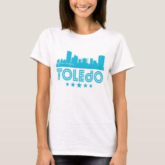 Horizonte retro de Toledo Camiseta