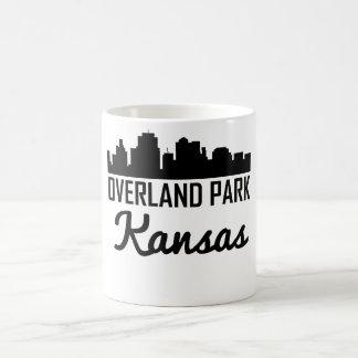 Horizonte terrestre de Kansas del parque Taza De Café