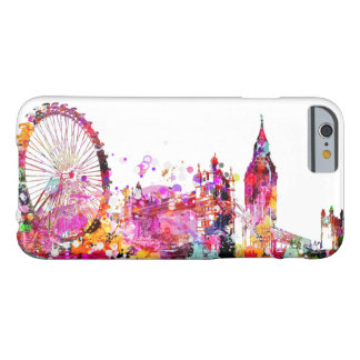 Horizonte urbano de PixDezines Londres Funda Para iPhone 6 Barely There