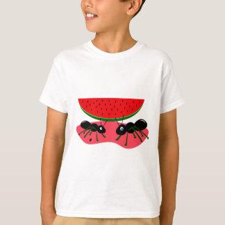 Hormigas y sandía camisetas