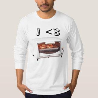 Horno de la tostadora I <3 Camisas