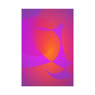 Horno púrpura impresiones de lienzo