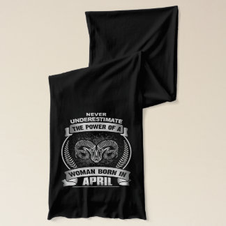 Horóscopo abril bufanda