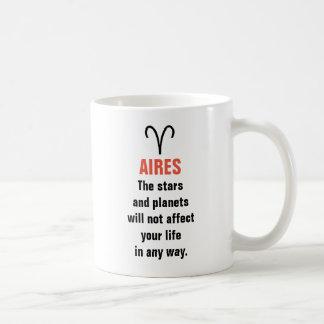 Horóscopo de Aires - las estrellas y los planetas Taza De Café