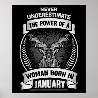 Horóscopo enero póster