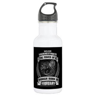 Horóscopo febrero botella de agua