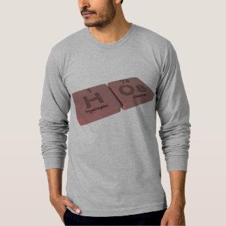 Hos como el hidrógeno de H y osmio del OS Camisetas