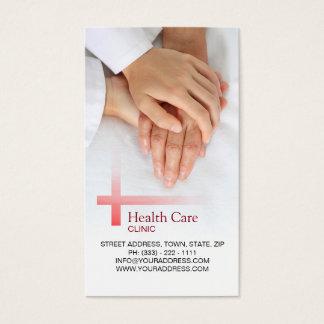 Hospital de los primeros auxilios de la medicina tarjeta de visita