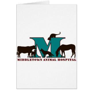 Hospital veterinario de Middletown Tarjeta De Felicitación