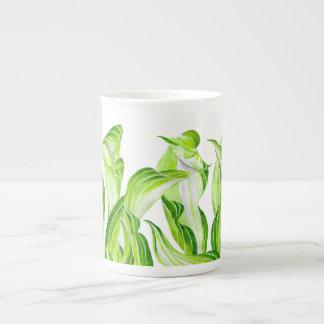 """""""Hosta con el Mosta"""" en una taza de la porcelana"""