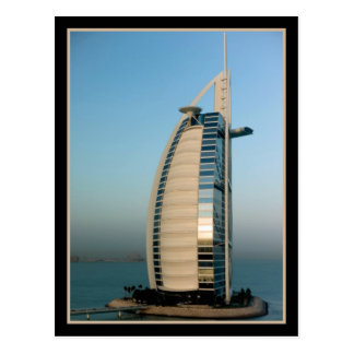 Hotel árabe del Al de Burj (Dubai) Postal