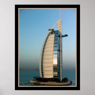 Hotel árabe del Al de Burj (Dubai) Impresiones