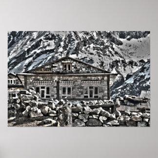 Hotel de Sherpa - senderismo y viaje de Nepal Póster