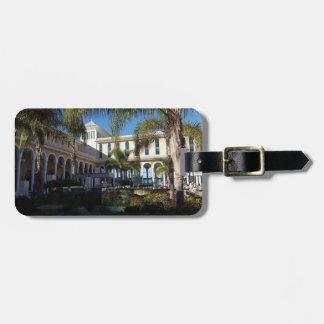 Hotel de Tenerife y etiqueta del equipaje de las