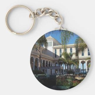 Hotel de Tenerife y llavero del botón de las