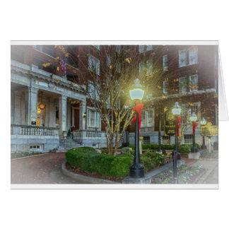 Hotel de Tutwiler del navidad en Birmingham, AL Tarjeta