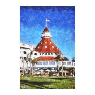 Hotel Del Coronado Impresiones En Lona Estiradas