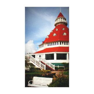 Hotel Del Coronado Impresiones De Lienzo
