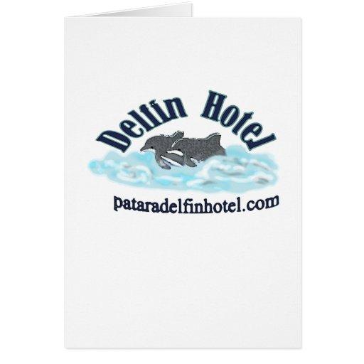 hotel del delfin felicitación