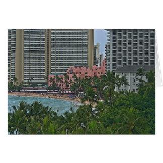 Hotel hawaiano real tarjeta