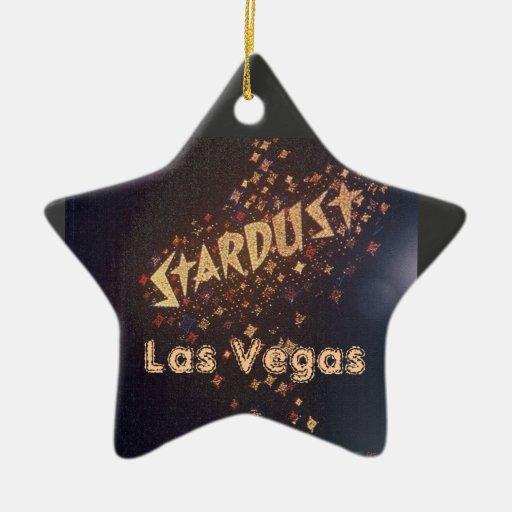 Hotel Las Vegas de Stardust retro Ornamente De Reyes