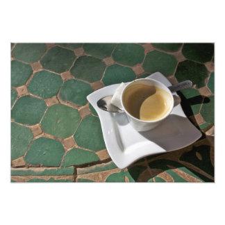 Hotel y restaurante de Kasbah, café y verde Fotografias