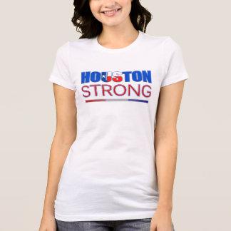 Houston fuerte - camiseta del alivio de Harvey del