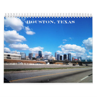 Houston, Tejas - calendario