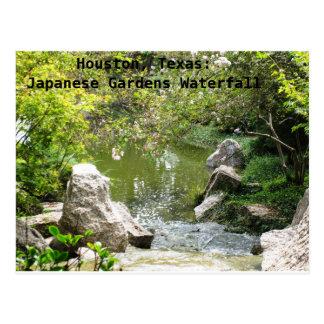 Houston, Tejas: El japonés cultiva un huerto Postal