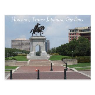 Houston, Tejas: Jardines japoneses - postal