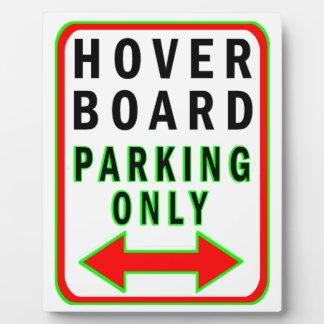 Hoverboard que parquea solamente placa