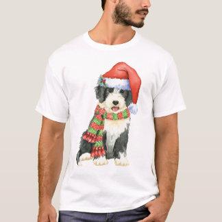 Howliday feliz Beardie Camiseta
