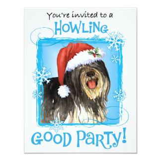 Howlidays feliz PON Invitación 10,8 X 13,9 Cm