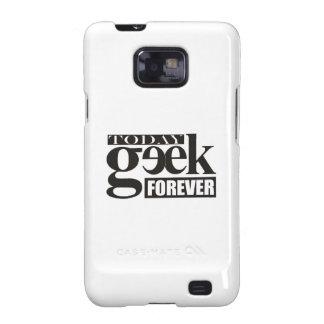 Hoy friki Siempre Geek Galaxy SII Funda