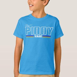 Hoy Pinoy Ako - camisa filipina - expresión de