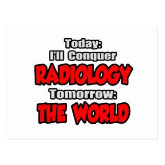 Hoy radiología… mañana, el mundo postal