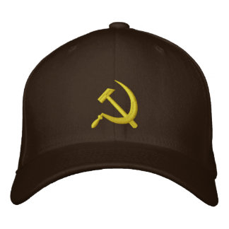 Hoz de CCCP y gorra soviéticos del martillo