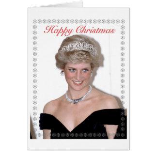 HRH el navidad de la Princesa de Gales Tarjeta De Felicitación