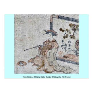 Huang sabio chino transformado Shangping (Kō Shohe Postal